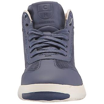 Cole Haan Womens Grandpro Hi Leather Low Top Lace Up Fashion Sneakers