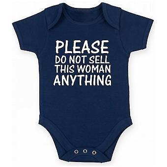 Body neonato blu navy fun2796 please do not sell