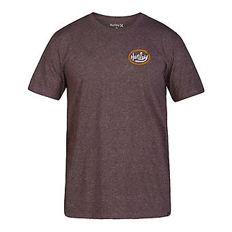 Hurley Siro Ovals Short Sleeve T-Shirt in Dark Grey HTR