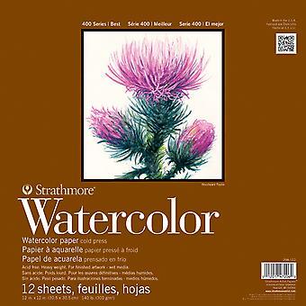 Strathmore Watercolor Paper Pad 12