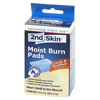 2nd skin moist burn pads, 1.5 inch x 2 inch, 6 ea