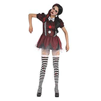 Costume da abito da donna di Bristol Novelty Donna Creepy