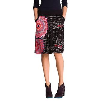 Desigual Women's Flared Bright Floral Alba Skirt