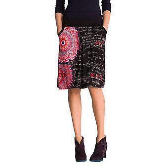 Desigual ženy ' s vzplanul svetlé kvetinové Alba sukne