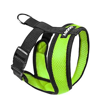 Gooby Comfort X Dog Harness Green - Large