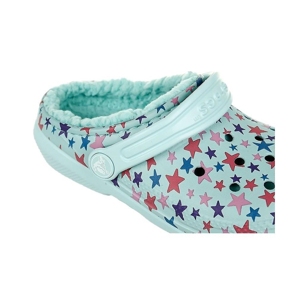 Crocs Classic Printed Lined 2058154O9 universal summer kids shoes
