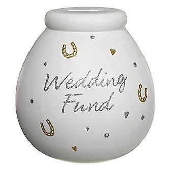 Topf der Träume Hochzeit Fonds Keramik Geld Topf