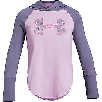 Under Armour Girls Finale Layer Koszulka z kapturem z długim rękawem