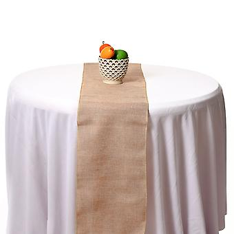 Plaine Vintage Hessian Table Runners Burlap Rustic