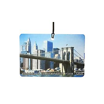 Pont de Brooklyn - New York - USA Car Air Freshener