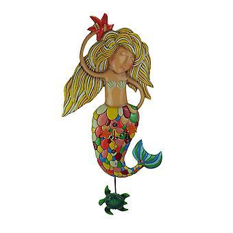 Allen ontwerpt grote Sirena de zeemeermin slinger Wandklok