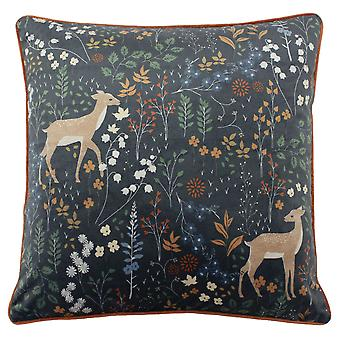 Furn Richmond Cushion Cover with Woodland and Botanical Design