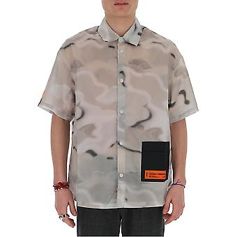 Heron Preston Hmga012s209100068819 Men's Multicolor Cotton Shirt
