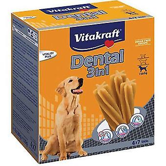 Vitakraft Dental MultiPack 3 in 1 Medium Dogs (Dogs , Treats , Dental Hygiene)