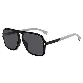 Fendi FFM0066/F/S 807/IR Black/Grey Sunglasses