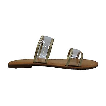 BC, born in California Womens Nectar Peep Toe Casual Slide Sandals