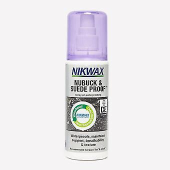 Neue Nikwax Nubuck und Wildleder Proofer 125ml Waterproofer Grau