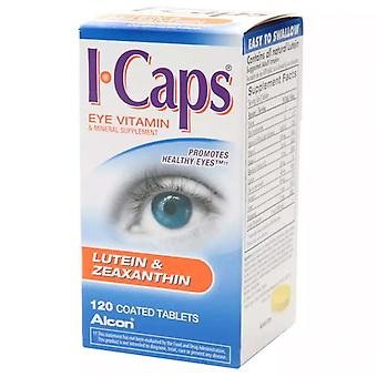 Icaps eye vitamin & mineral supplement, coated tablets, 120 ea