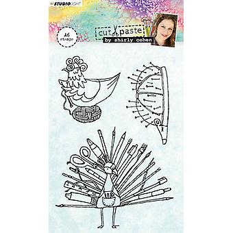 Studio Light A6 Clear Stamp Shirly Cohen Number 04