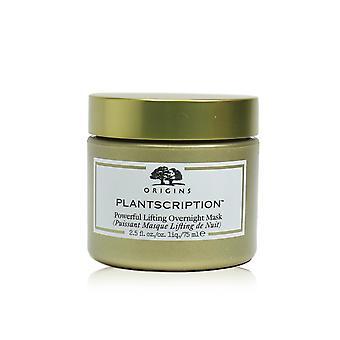 Plantscription krachtig hijsen 's nachts masker 246657 75ml/2,5oz