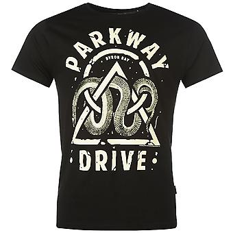 Official Mens Parkway Drive T Shirt Music Band Short Sleeve Crew Neck Tee