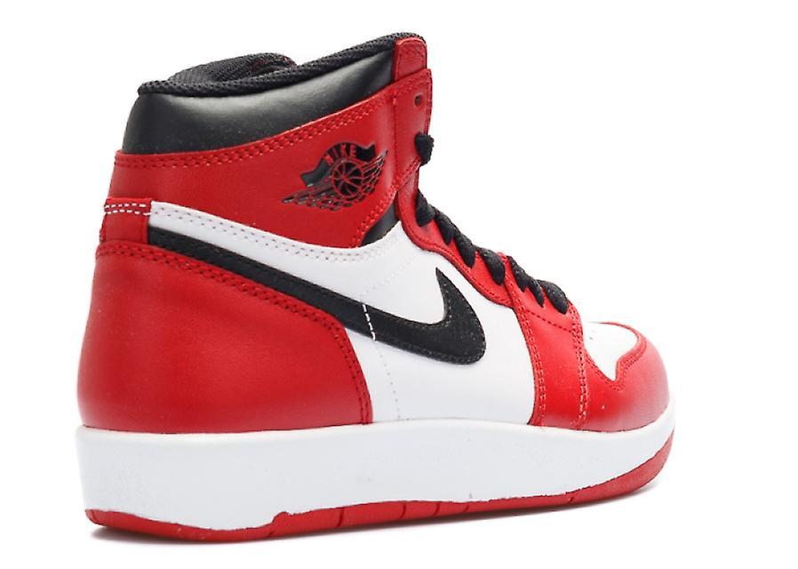 Air Jordan 1 Hei Tilbake Bg (gs) 'chicago' - 768862 601 Sko