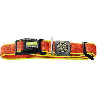 Hunter Collar Maui Vario Plus para perros color naranja