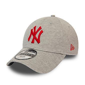 Nouvelle ère 9Forty enfants Cap - JERSEY NY Yankees gris
