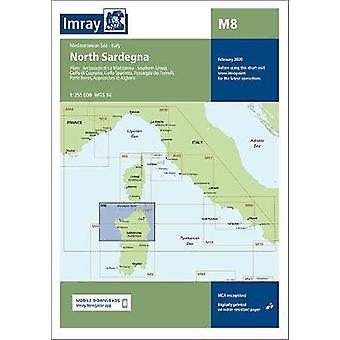 Imray Chart M8 - North Sardegna - 2020 by Imray - 9781786791900 Book