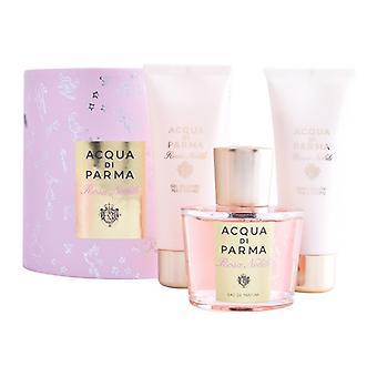 Women's Perfume Set Rosa Acqua Di Parma (3 pcs)