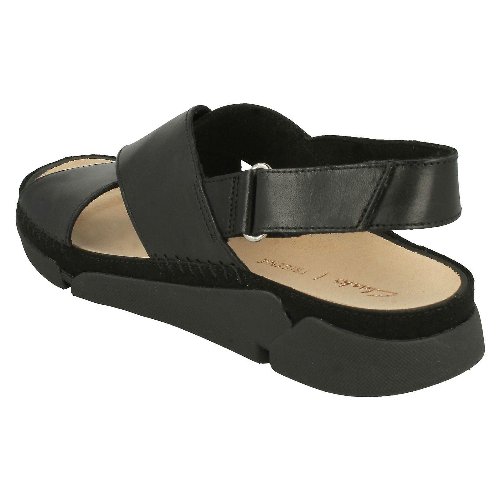 Ladies Clarks Casual Sommer Sandaler Tri Alexia