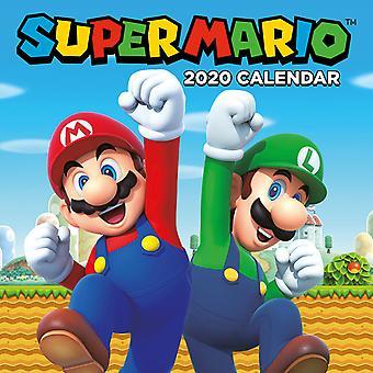 Super Mario 2020 Wall Calendar