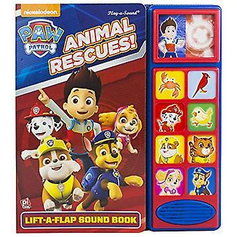 Paw Patrol Lift A Flap Sound Book by PI Kids - 9781503731462 Book