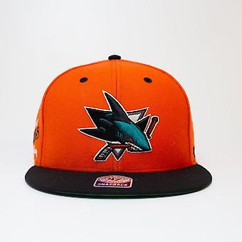 '47 Nhl San Jose Sharks Orange Snapback Cap