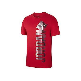 Nike Jordan Fade Crew CJ6294687 uniwersalny przez cały rok męski t-shirt