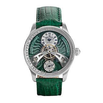Carl von Zeyten Men's Watch Wristwatch Automatic Freudenstadt CVZ0043GR
