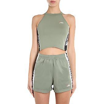 Fila 687694a425 Damen's grüne Baumwolle Top