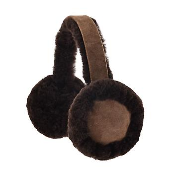 Nordvek Womens Sheepskin Earmuffs - Comfortable and Warm Ear Warmers # 506-100