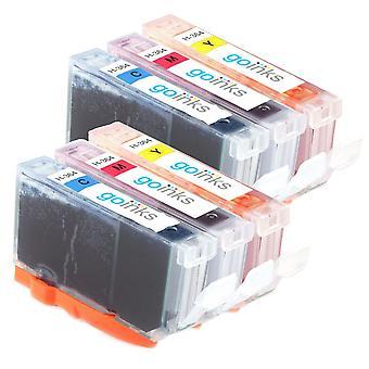 2 kompatible Sets von 3 C/M/Y HP 364 (HP364XL) Druckertintenpatronen (Farbset)