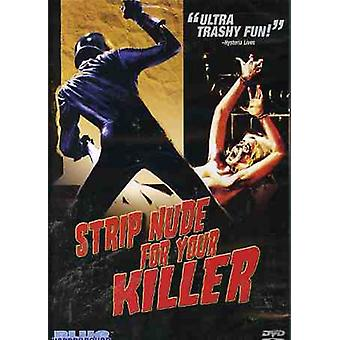 Strip Nude for Your Killer [DVD] USA import