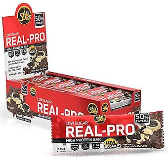 All Stars Real-Pro Bar Lemon Cheesecake  50 gr x 24 uds
