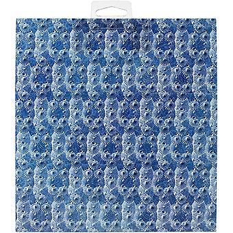 Gráfico 45 Ocean Azul 8x8 Polegada Bloco de papel