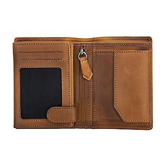 Primehide Mens Wallet Leather Card Holder RFID Blocking Gents Notecase 6260