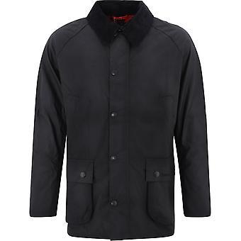 Barbour Mwx0339mwxbk71 Veste extérieure en coton noir