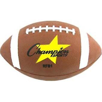 BA985P, Champion Sports Rubber Football -Taille 8 (Jeunesse)