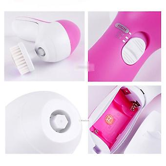 5 In1 Electric Face Cleaner With Brushes, Personal Care, Skin Beauty Tools