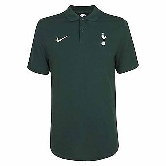 2020-2021 Tottenham Core Polo Camisa (Verde) - Niños