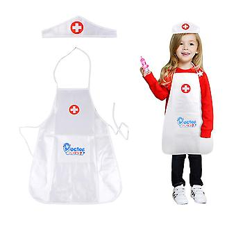 1 Set's Clothing Role Play Costume Doctor's Overall Nurse Uniform- Educational