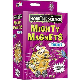 Galt Horrible Vetenskap Mighty Magneter