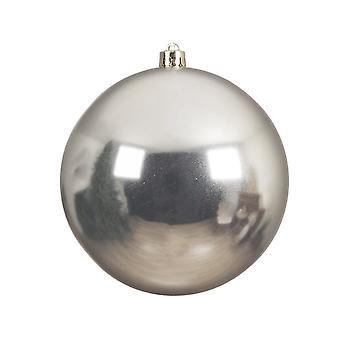 Single Misty Grey 14cm Shatterproof Kerstboom Kerstballen Decoratie